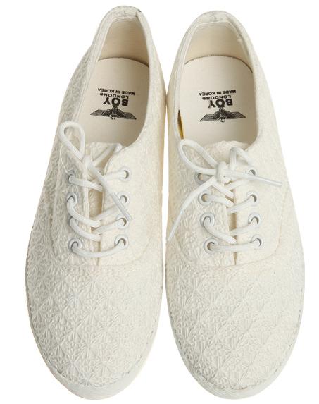fluorescent knit flat, shoes