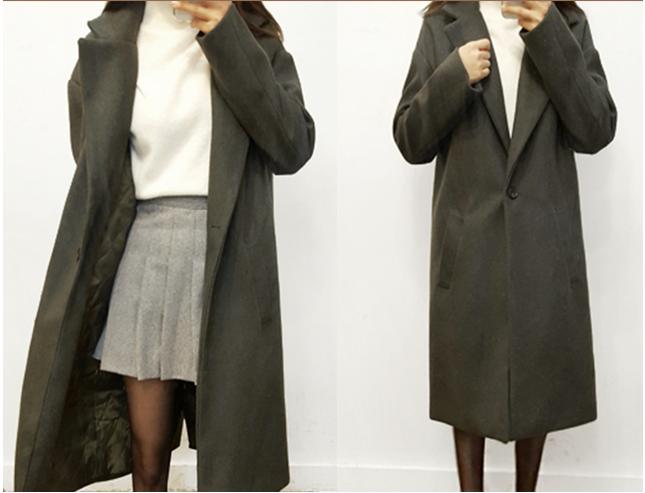 블랙과는 달라, 카키색 코트 10가지 코디법