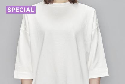옷장 속 화이트 티셔츠 코디법
