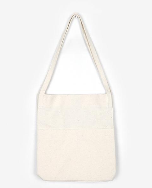 pocket cotton eco-bag (2 colors)