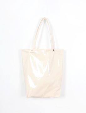 Coating double bond shoulder bag_Y (size : one)