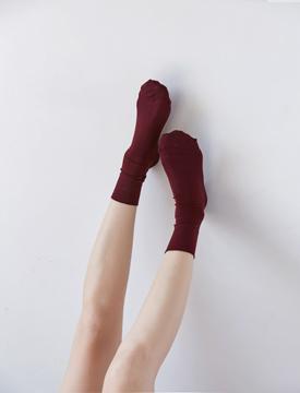Wide band nylon socks_H (size : one)