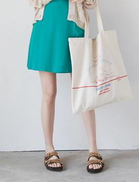 Picnic cotton eco bag_H (size : one)