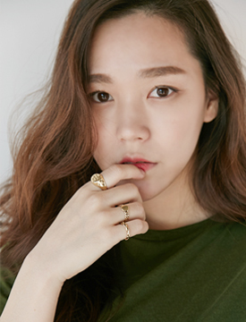 Letter gold ring set_B (size : one)