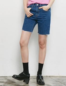 Boy cutting crop denim pants_Y (size : S,M,L)