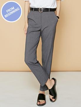 Made_bottom-063_day slim slacks (size : S,M,L)