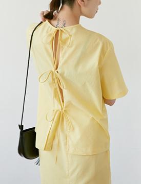 Embo ribbon blouse_B (size : free)