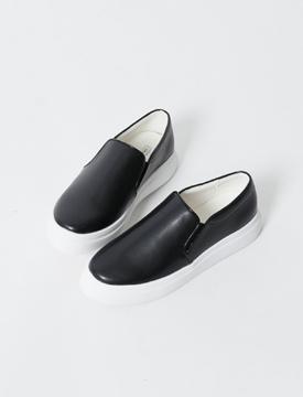 Plain leather slip-on_K (size : 225,230,235,240,245,250)