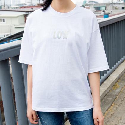로우 홀로그램 티셔츠