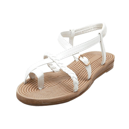 Twist strap sandal (3color)
