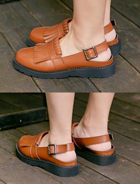 Martin tassel slingback shoes_K (size : 230,235,240,245,250)