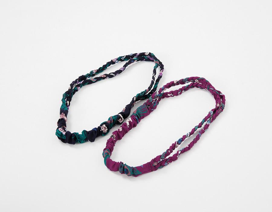 Colourful braid hair band_K (size : one)