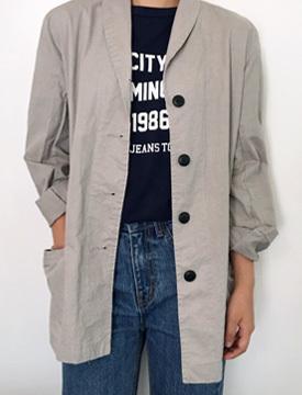 Paper cotton single jacket_H (size : free)