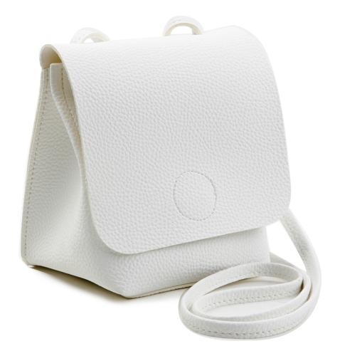 Circle stitch mini bag