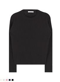 Slim round knit