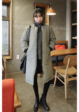 쿨리 롱패딩 코트 (한겨울까지 따뜻하게 입는 롱패딩코트)