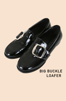 Big Buckle Loafers
