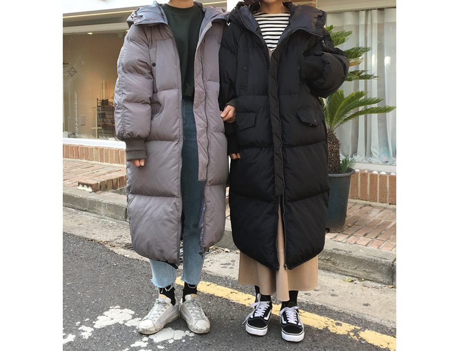 (재진행)Daily warm long padding jumper_B (size : free)