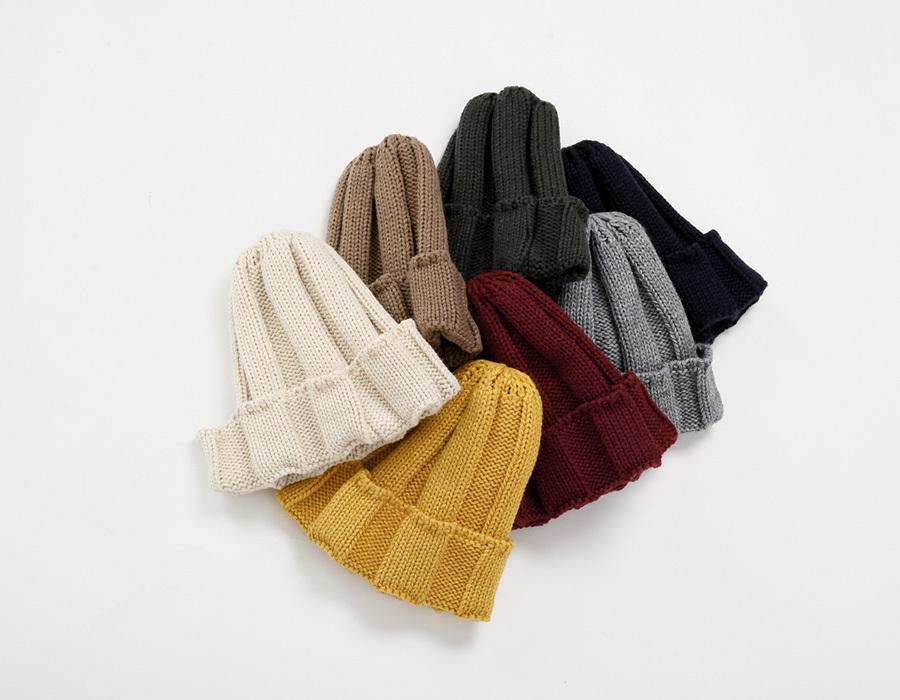 Deep golgi knit beanie_K(size : one)