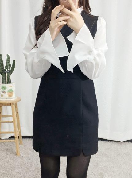 [최저가]비죠 울 원피스  ♥연말룩,하객룩으로 추천♥