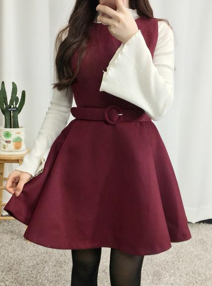 당일배송♥ 코스 벨트원피스(2color)