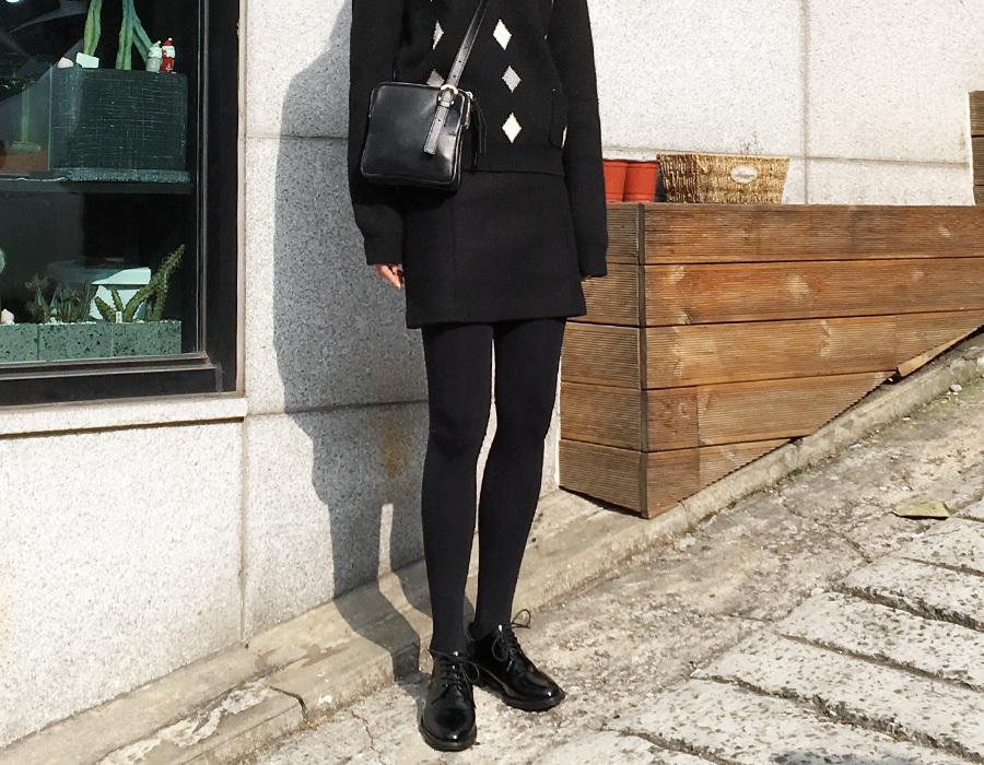 Wonder wool mini skirt_M (size : S,M)