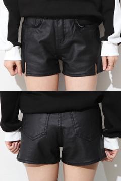 Leather Panties Hot Pants