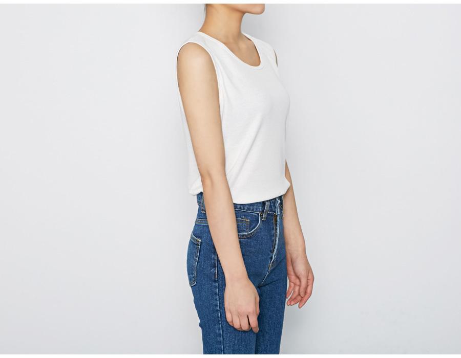 Warm heat sleeveless T_M (size : free)