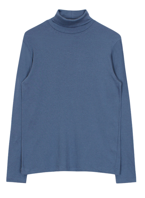 Tencel turtle-neck tee (5color)