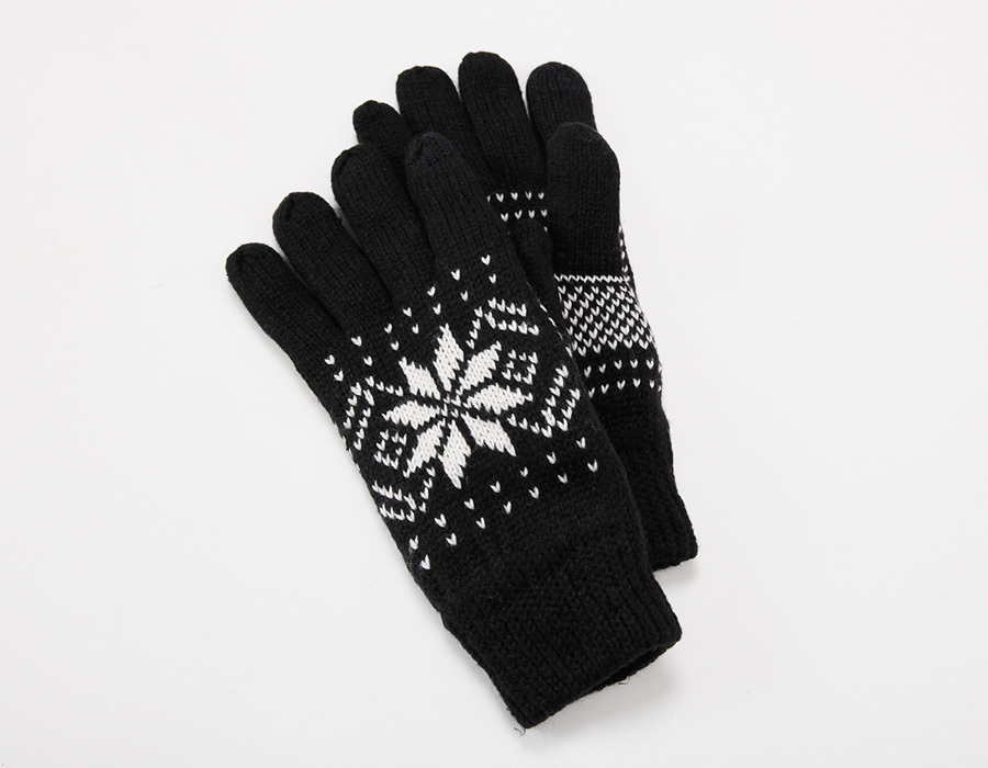 Snowflake smart touch glove_K(size : one)