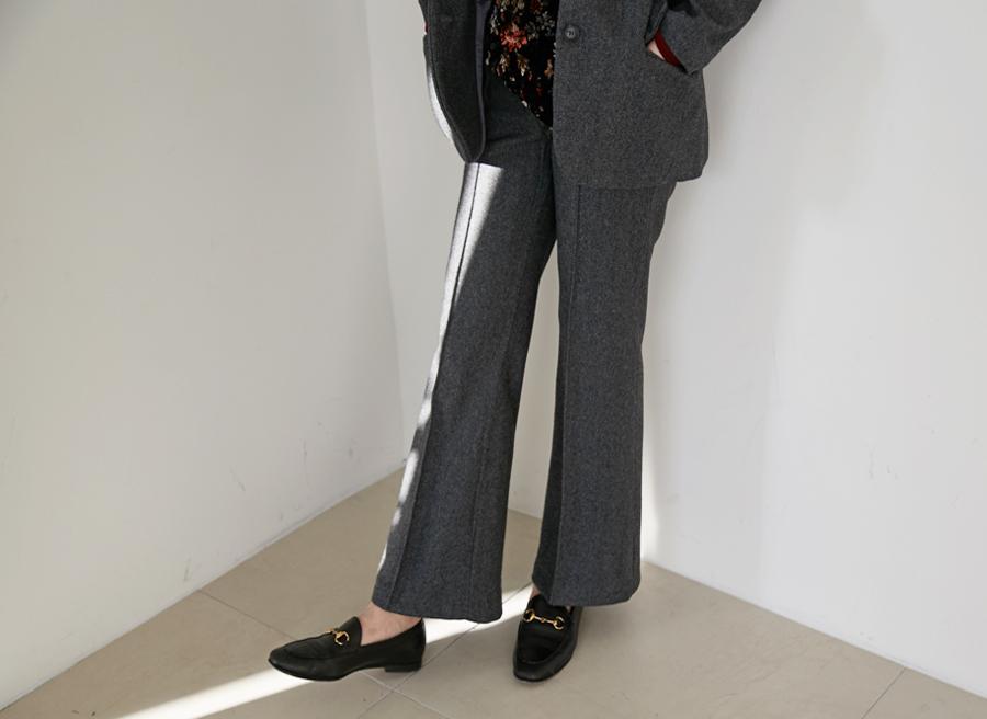 Standard wool slacks_Y (size : S,M)
