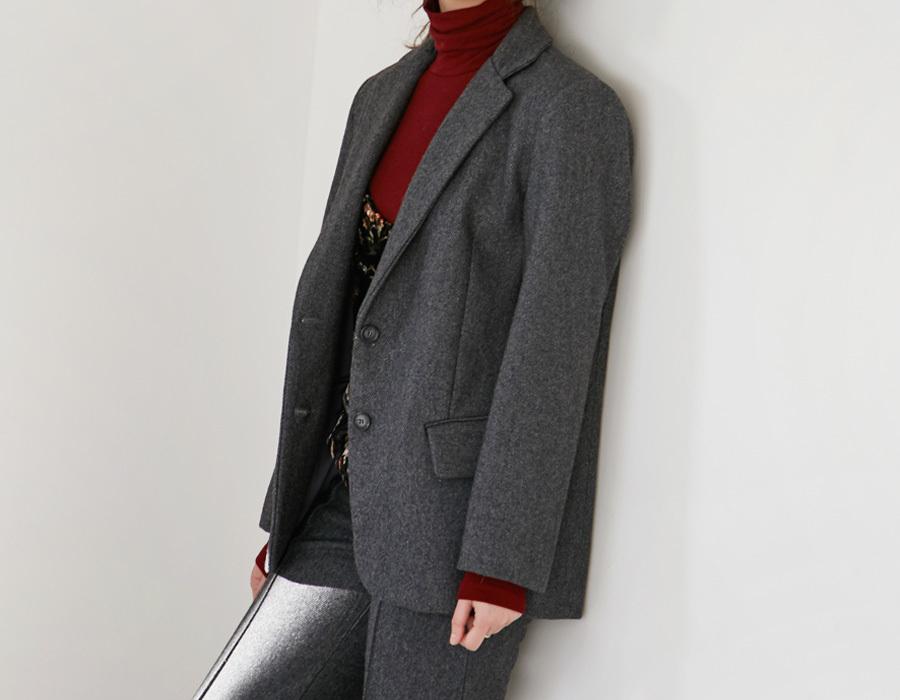 Standard wool jacket_K(size : free)