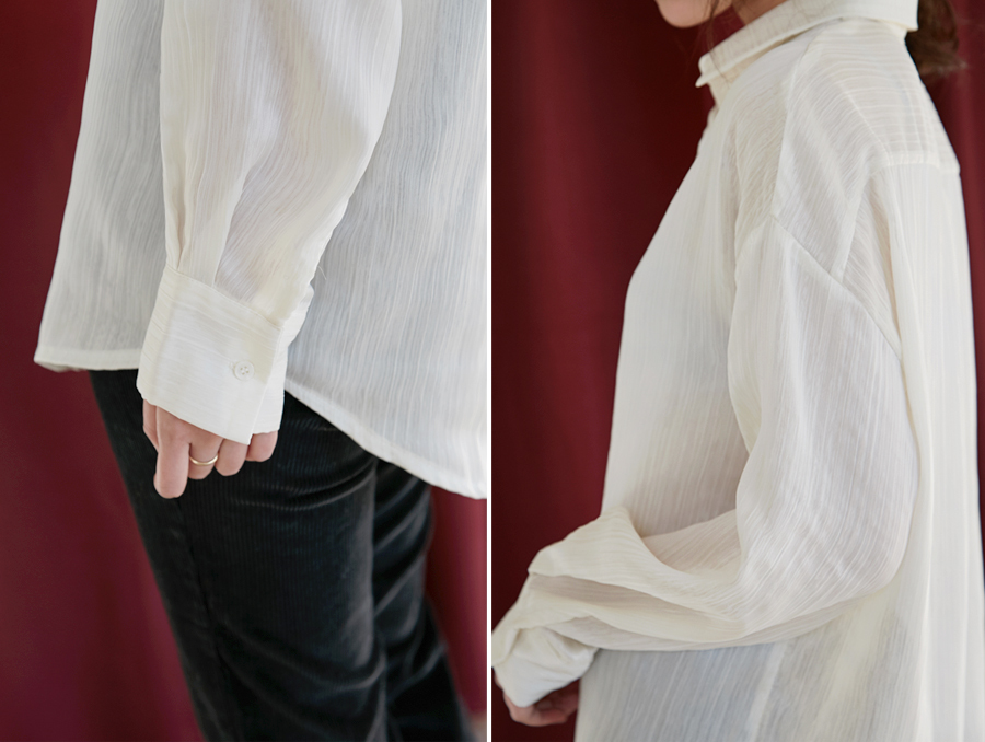 Favor see-through blouse_H (size : free)