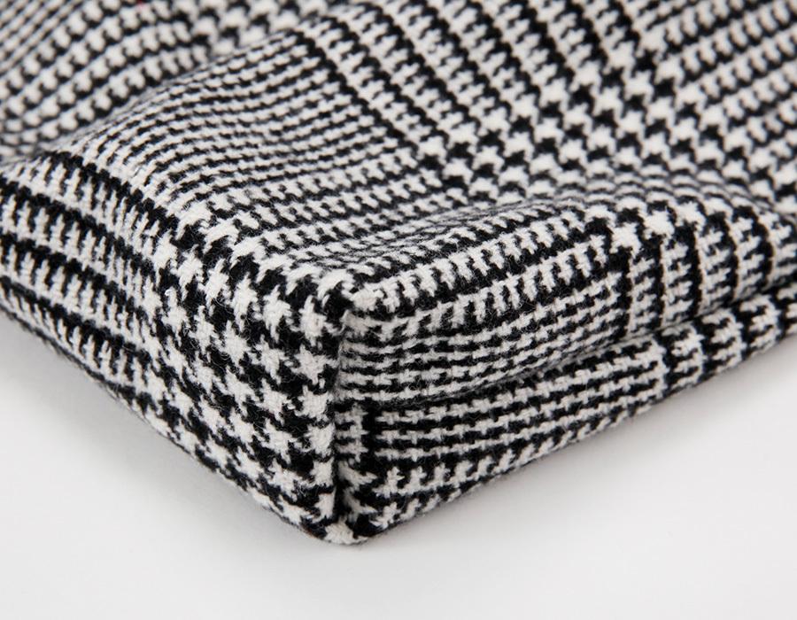 Core check cotton bag_K(size : one)
