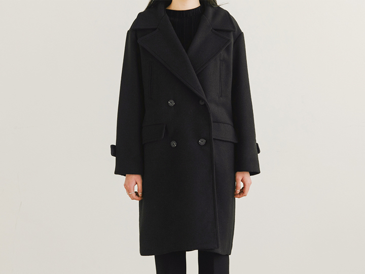 [OUTER] ADD DOUBLE WOOL COAT