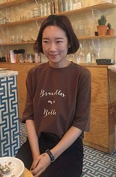 Parisien.BELLE-티셔츠