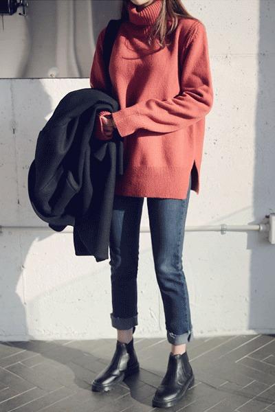 Stove Polar Knit - Wool 50%