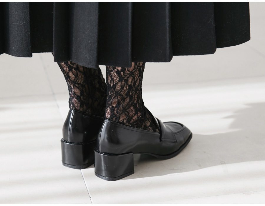 Clover lace socks_M (size : one)