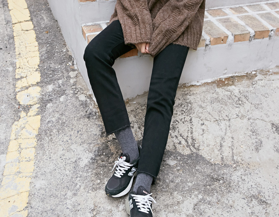 Napping straight cutting jeans_K(size : S,M,L)