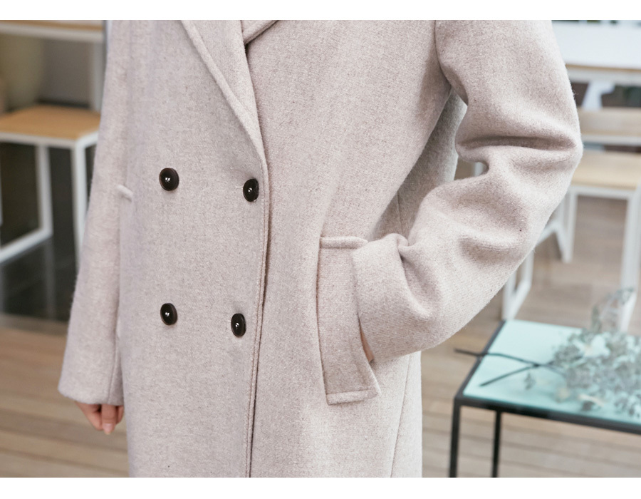 Cover heat daily coat_M (size : free)