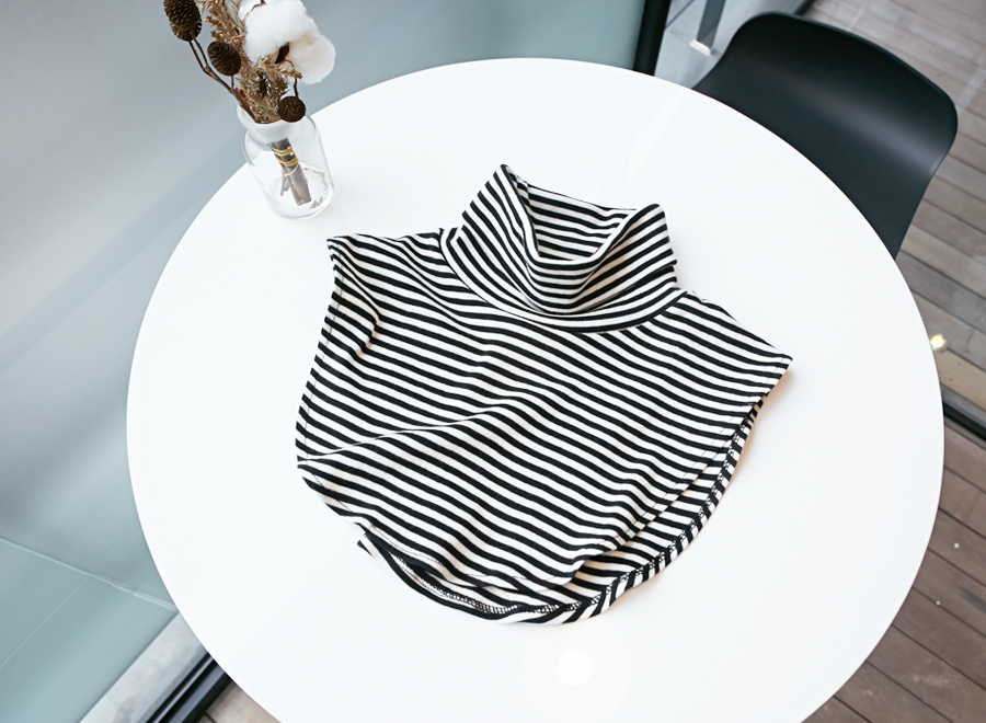 Warm layered stripe pola_Y (size : free)