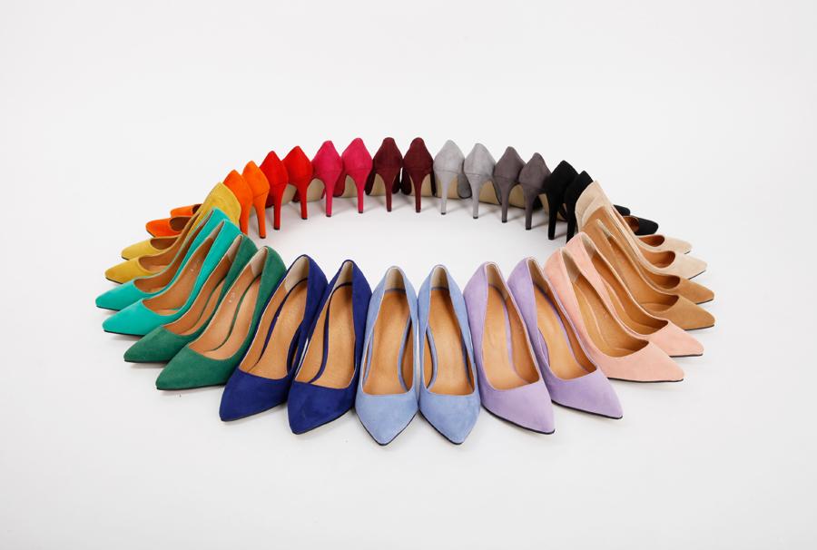 Laundry color stiletto heel_Y (size : 225,230,235,240,245,250)