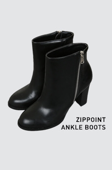 Zippoint-앵클부츠