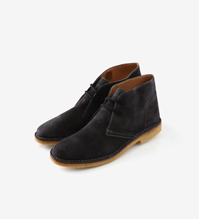NG1 Suede Asphalt Desert Boots