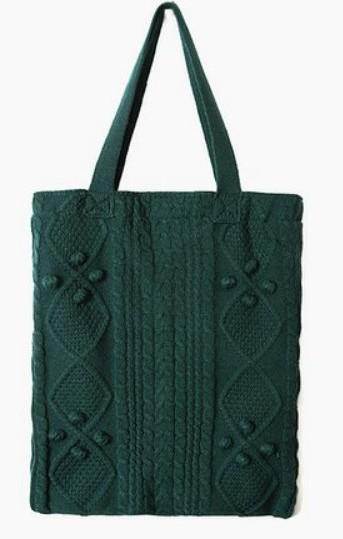 girlish knit bag (4 colors)