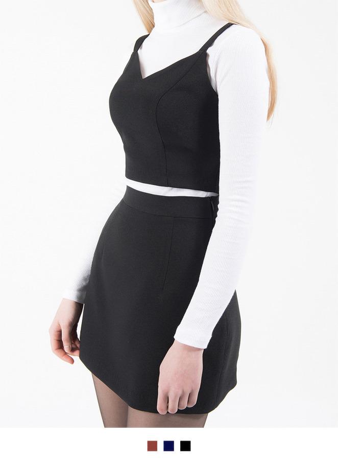 Line Basic Skirt Line Basic Bustier Set