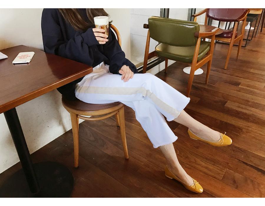 Organic cotton track pants_S (size : S,M)