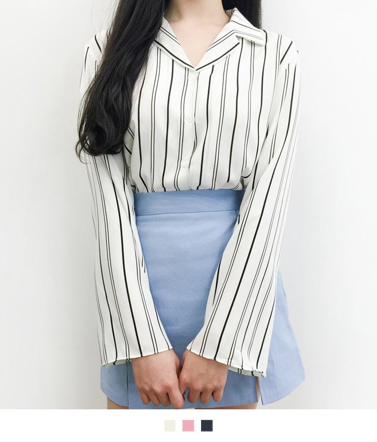 Soft Stripe Blouse