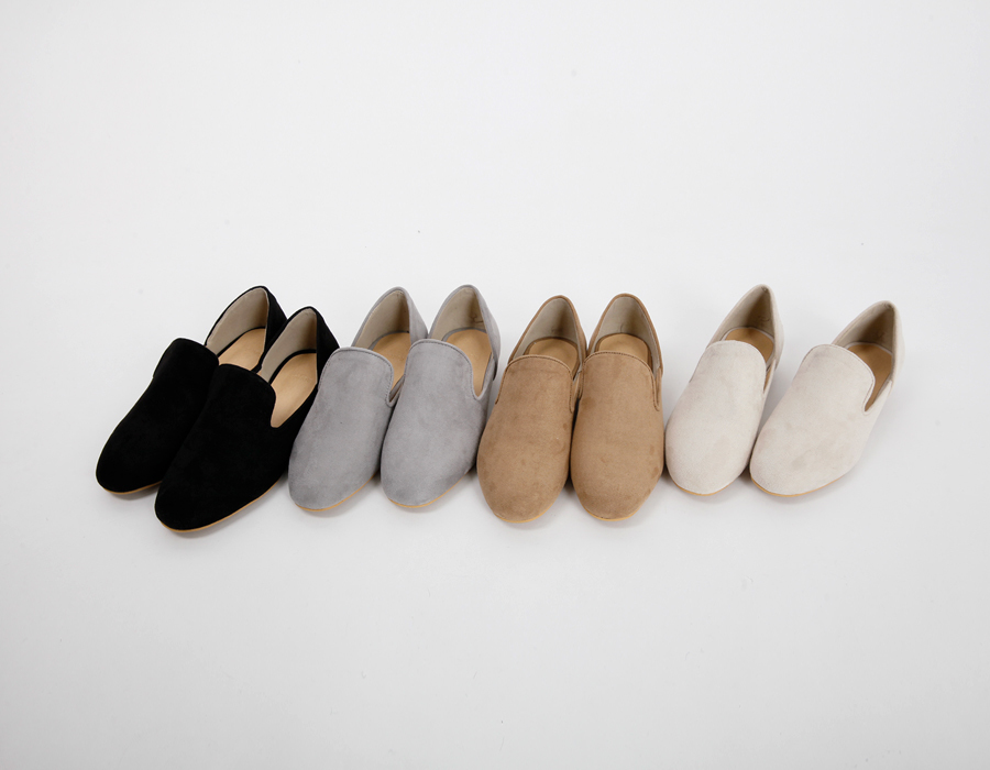 Bella sweat basic loafer_S (size : 230,235,240,245,250)