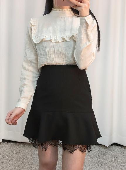 마린 프릴 블라우스(2color)